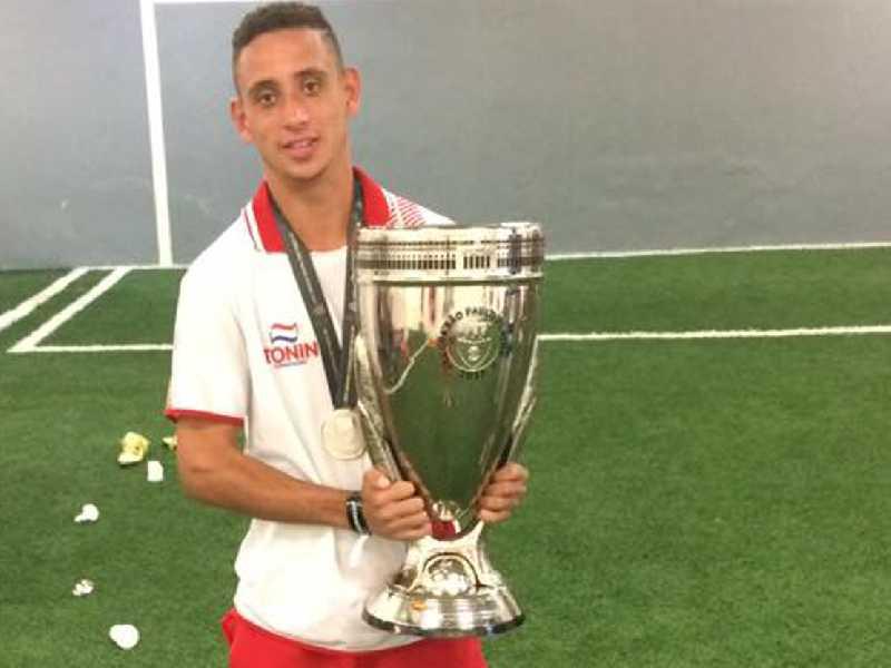 Thales foi um dos destaques do Batatais na Copinha de 2017 quando o time foi vice campeão
