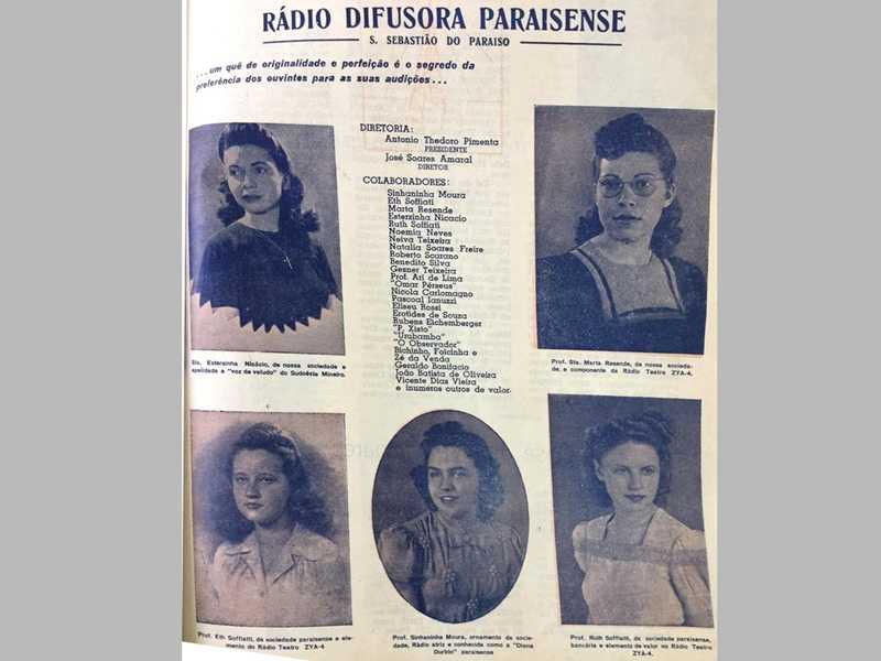 Foto 3 – Rádio Difusora Paraisense – Setembro de 1943...