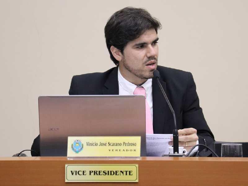 vereador Vinício Scarano