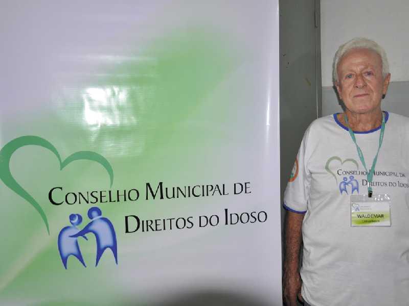 Waldemar Galvão reafirma que o Conselho do Idoso tem feito um trabalho de conscientização junto a comunidade