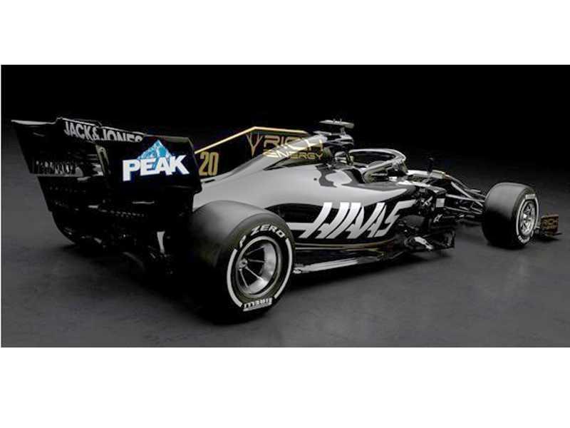 Nova pintura negro-dourada da Haas já conquistou os fãs da F1