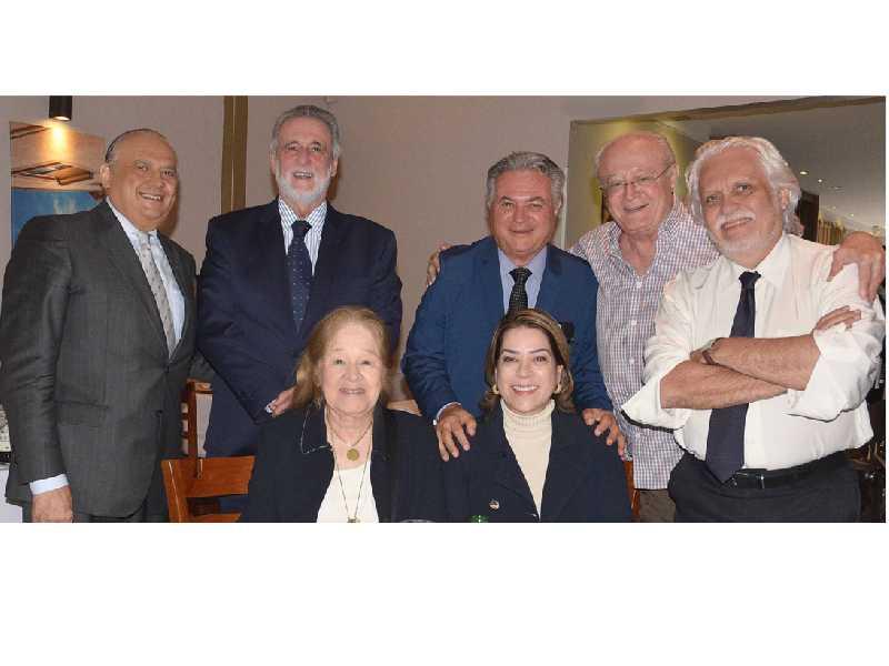 Ministro Carlos Melles, Maria Estela Kubitschek e Paulo Octávio