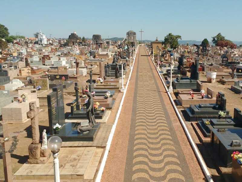 Cemitério da Saudade de Paraíso onde no mês de Setembro passado foram sepultados 41 pessoas