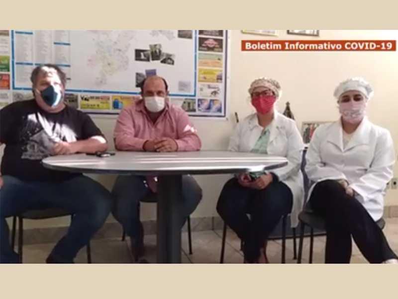 Prefeito de Itamogi e equipe da Secretaria Municipal de Saúde confirmam primeiros casos de coronavírus no município