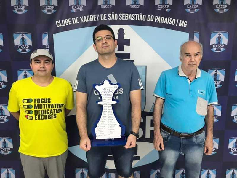 : Érlon César Braghini venceu a Categoria A no primeiro evento do ano no Clube de Xadrez de São Sebastião do Paraíso