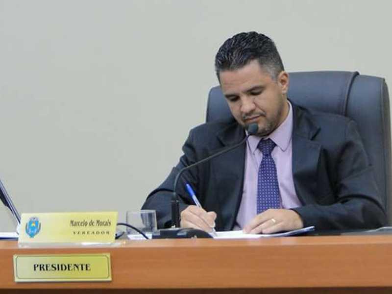 O presidente da Câmara Municipal em São Sebastião do Paraíso, Marcelo de Morais