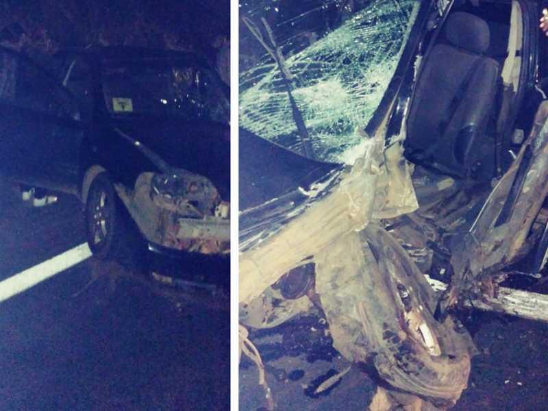 Grave acidente entre um Ford Ka de São Sebastião do Paraíso e um Astra, de Passos,