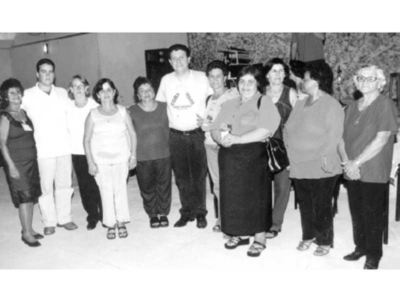 Grupo RENASCER em baile na cidade de Itaú de Minas
