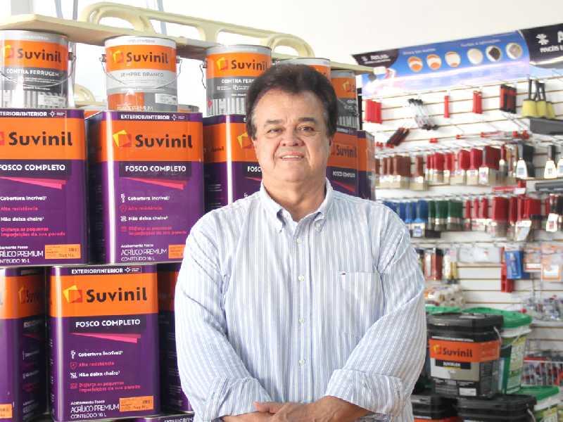 Empresário Maurício Mafra,