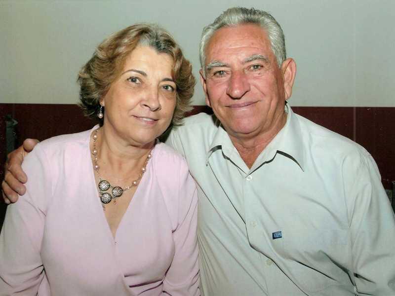 Paulo Delfante e sua esposa Regina Célia Dizaró Delfante