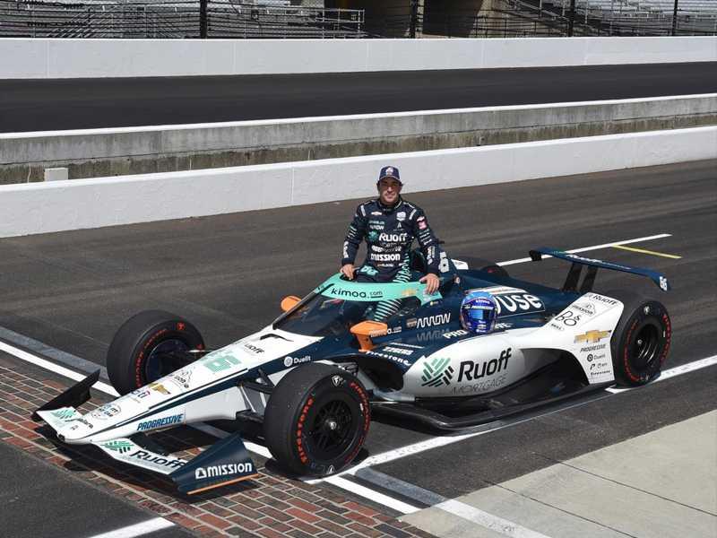 Atuação de Fernando Alonso em Indianápolis  passou despercebida para quem busca a Triple Coroa do Automobilismo