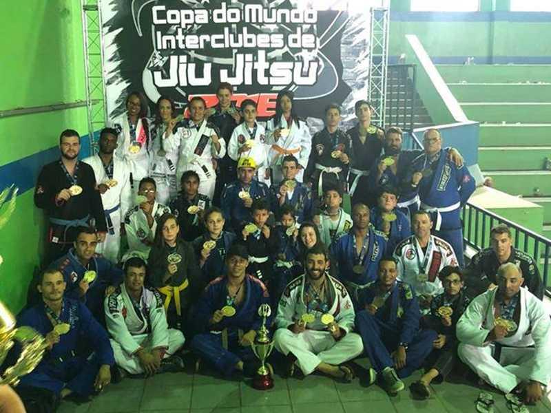 Lutadores da equipe de Paraíso alcançou classificação de destaque na competição