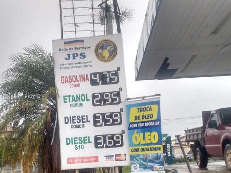 O preço do litro mais barato da gasolina, diesel e do etanol, está sendo vendido no Posto JPS, que fica localizado na Av. Brasil, no Parque São Judas Tadeu
