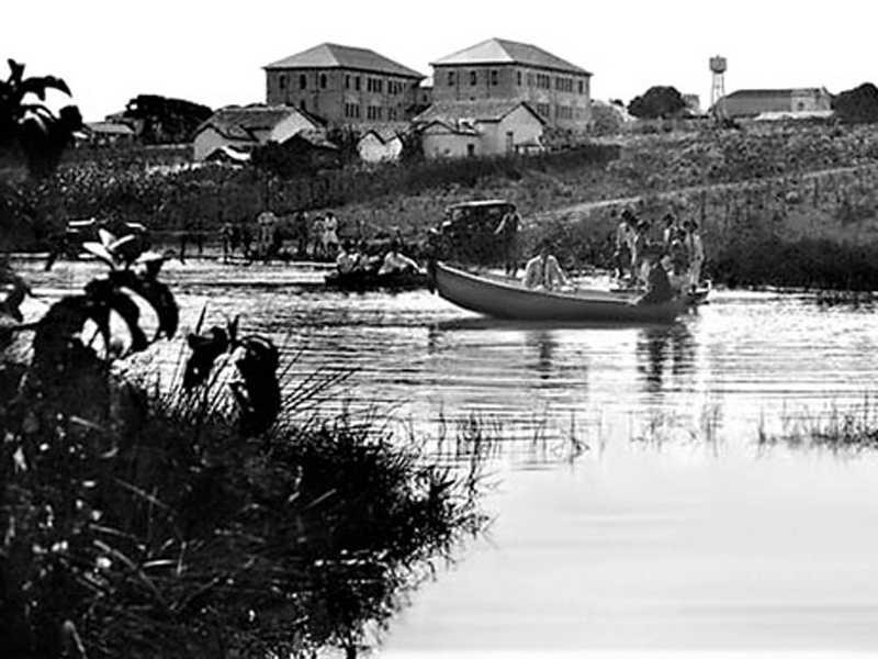 Lagoa de São Sebastião do Paraíso, cuja existência está registrada em documetnos do final do século XIX