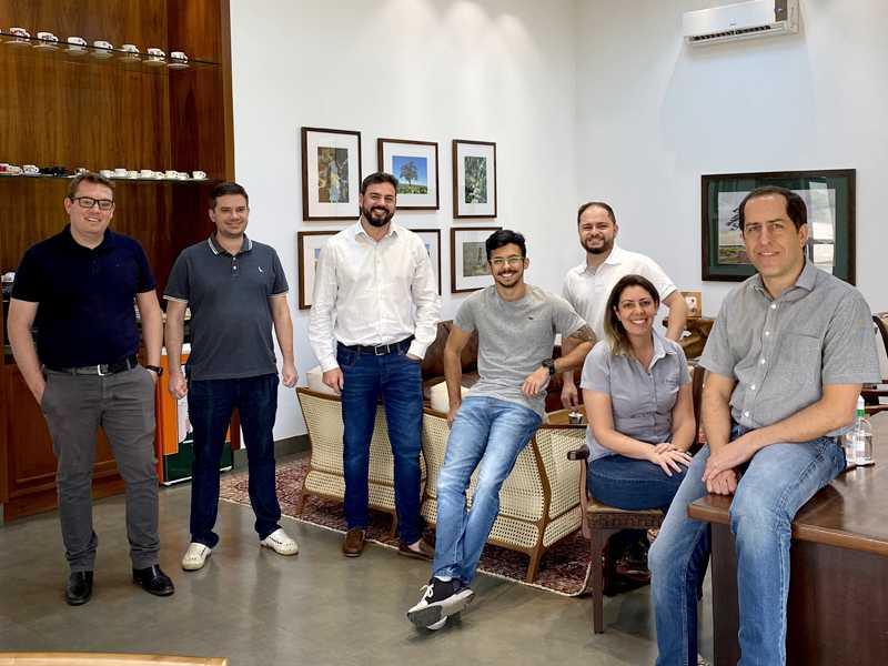 Juliano Zani, Francisco Lucio, Marcell Salgado, Eduardo Bahia, Ely Prado, Lívia Marques e Fernando Alvarenga