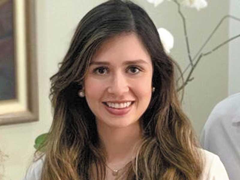 Médica Ana Flávia Rodrigues(destaque) com  integrantes da Clínica de Odontologia Malaguti Ferreira