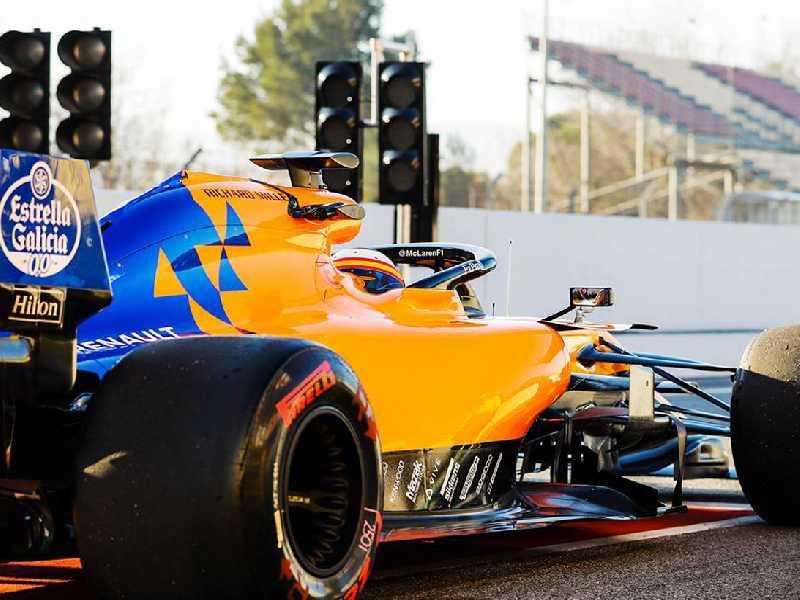 A McLaren deu pinta de finalmente  poder disputar um campeonato decente com o novo MLC34