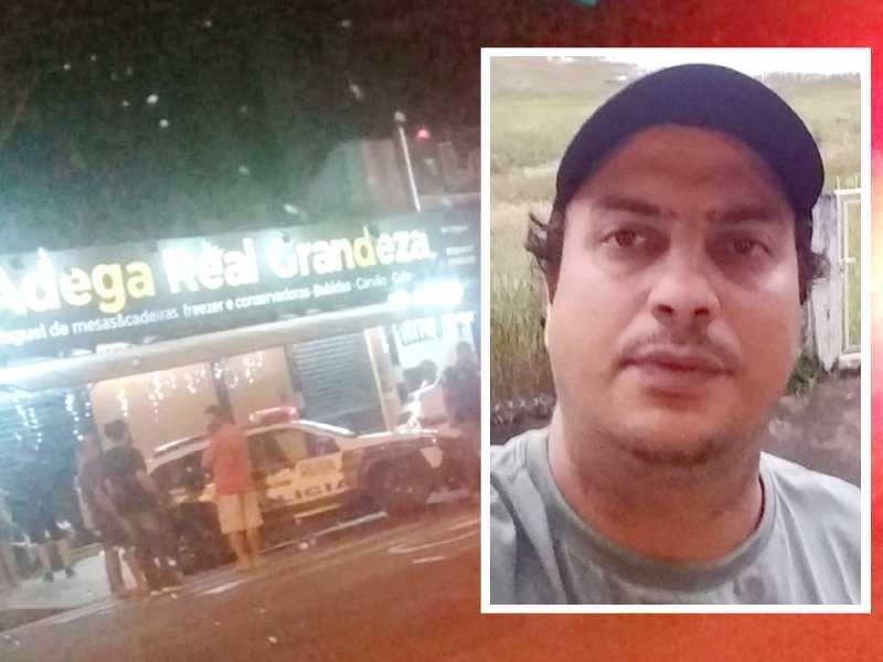 O comerciante Luiz Fernando Aguiar foi morto a tiros na noite de segunda-feira (21)