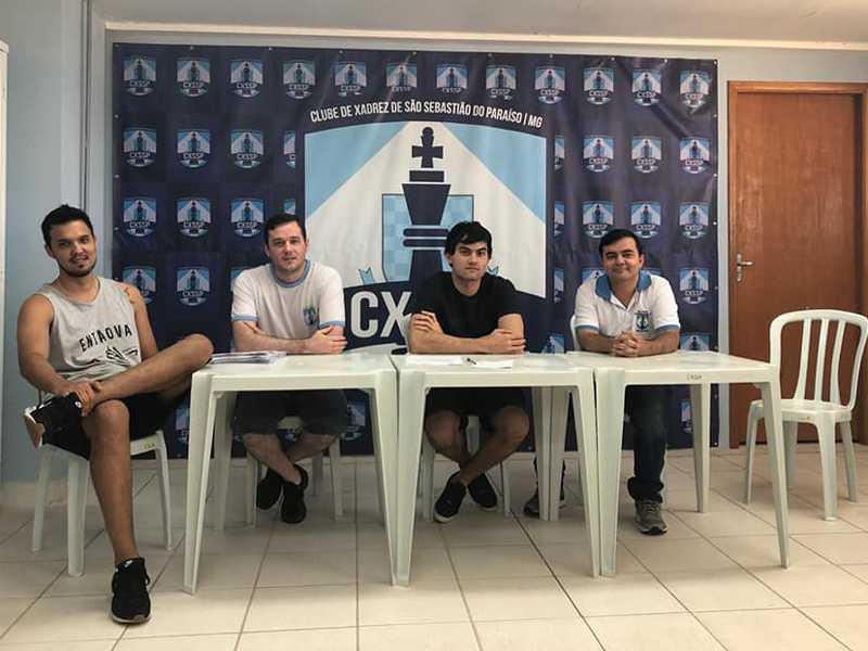 Eleição da diretoria do Clube de  Xadrez de São Sebastião do Paraíso
