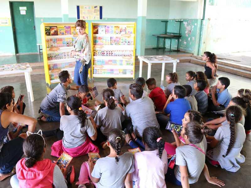 De acordo com o Censo Escolar 2023 estudantes  estão matriculados na Educação Infantil no Município