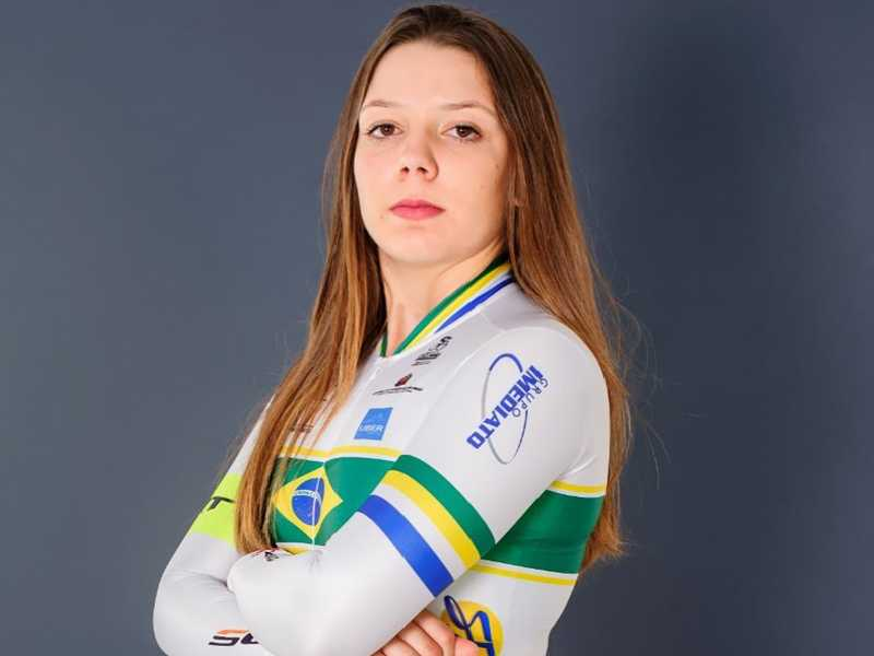Ana Paula Finco participa da competição em nível nacional pela segunda vez nas provas de ciclismo