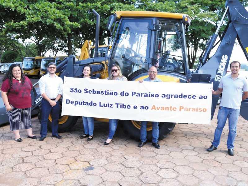 Representantes do partido Avante destacam trabalho do deputado Luis Tibé pela comunidade paraisense