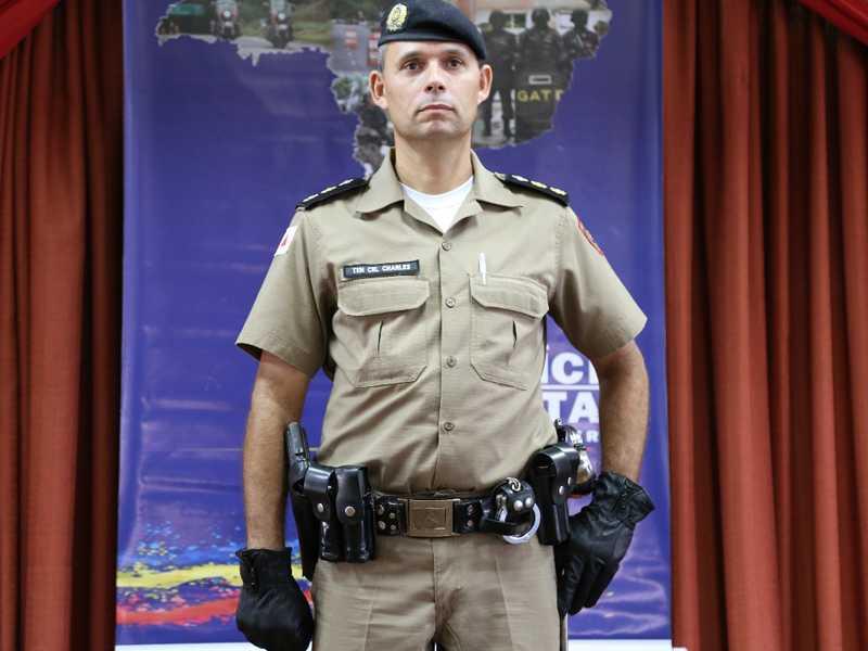 Novo comandante do 43º BPM em Paraíso, tenente-coronel Charles Kerley Batista