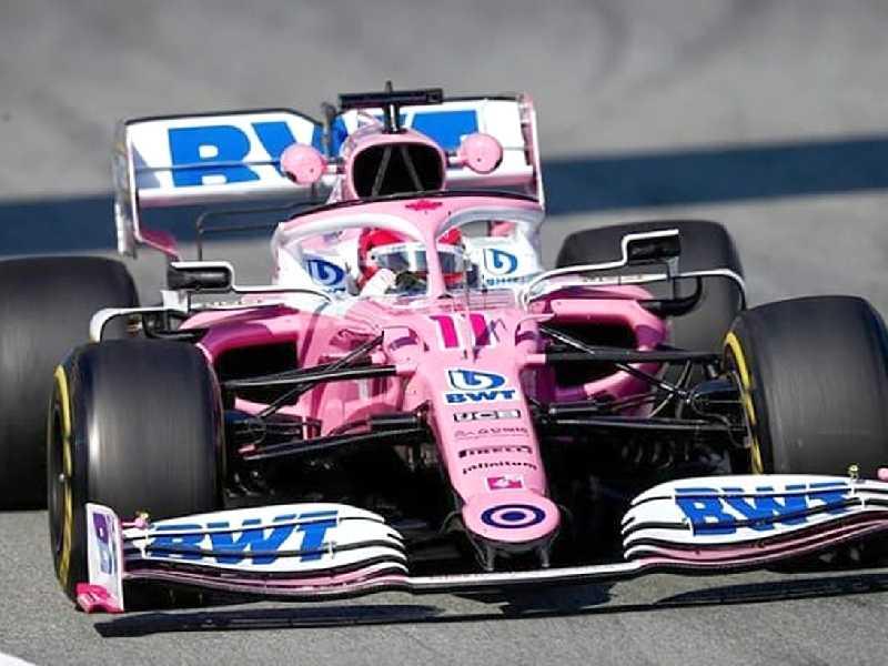 O novo carro da Racing Point é quase uma réplica do W10 da Mercedes do ano passado