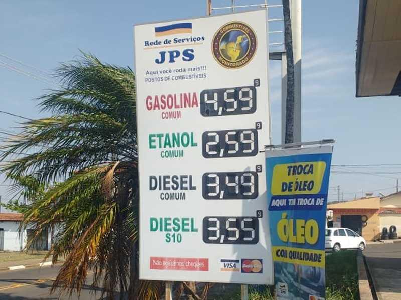 No Posto JPS , localizado na Av. Brasil no  Parque São Judas Tadeu é onde se vende o litro da gasolina e do etanol mais barato em Paraíso