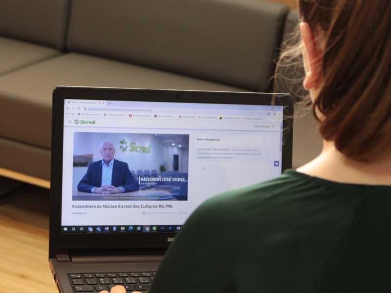 2.226 associados participaram da Assembleia  de Núcleo da Sicredi, realizada de forma virtual