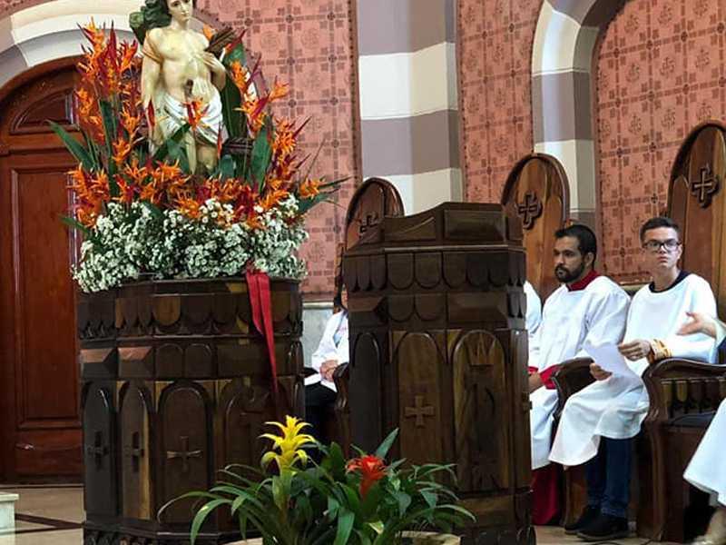 Paraíso celebra neste domingo dia 20 o padroeiro São Sebastião