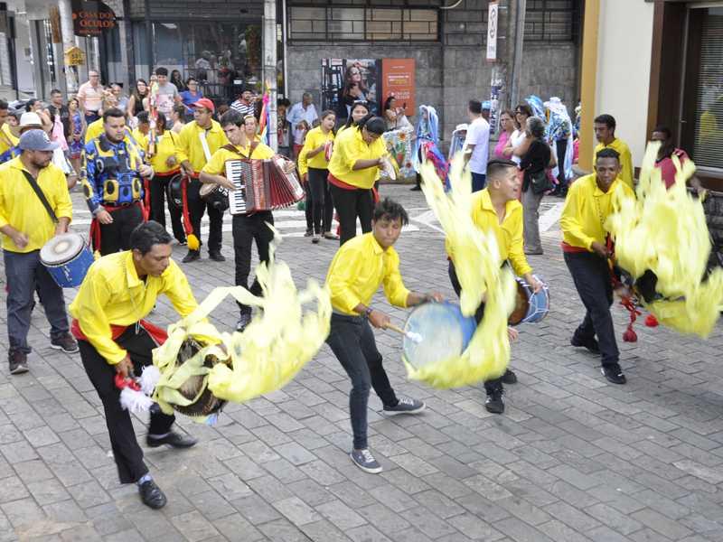 Eventos como a Congada, tradicional em Paraíso ajuda a contar pontos para a cidade