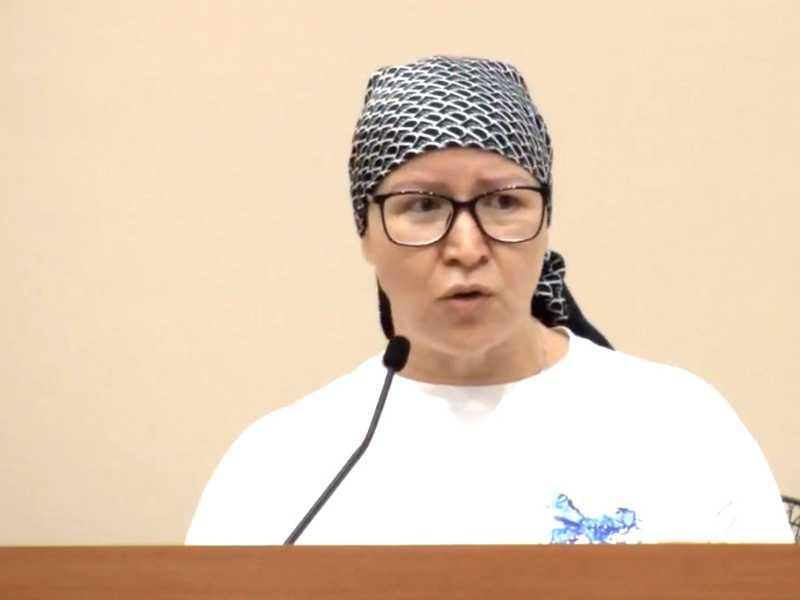 Jane Tenório Araújo - Presidente do Conselho Municipal da Pessoa com Deficiência em São Sebastião do Paraíso