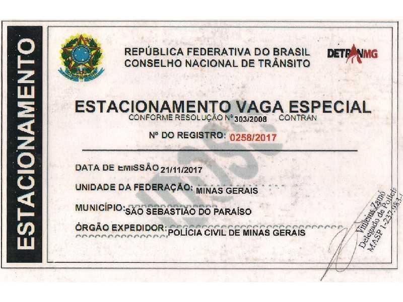 Documentos garantem aos idosos estacionar em vagas na mesma quadra onde mora sem pagar zona azul