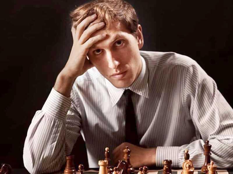 Bobby Fischer, campeão mundial de xadrez em 1972
