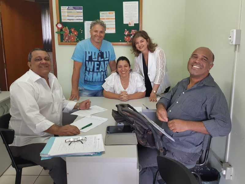 Durante trabalho de campo duas escolas do Município foram visitadas para coleta de dados