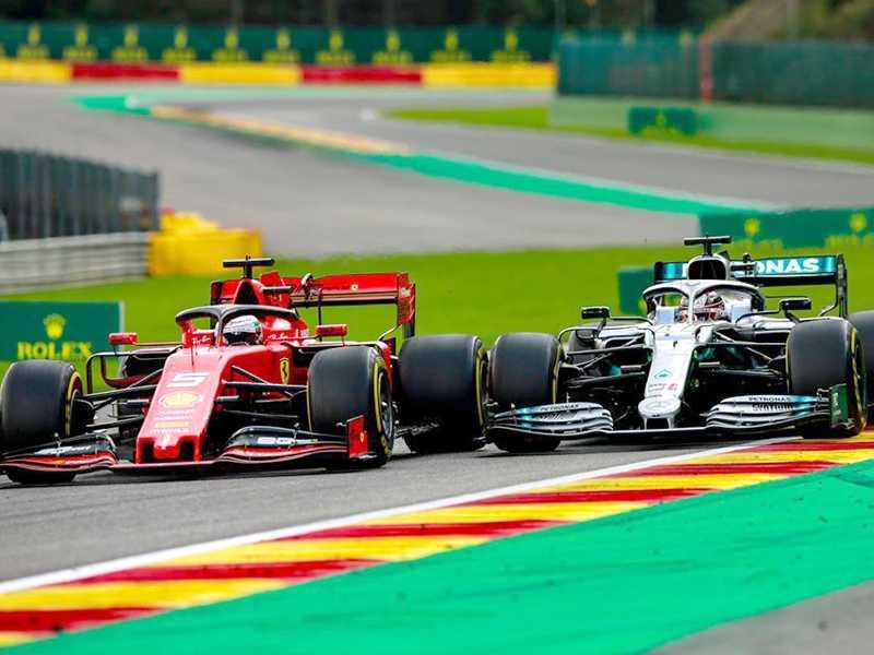 A partir do GP da Áustria, muitas disputas acirradas