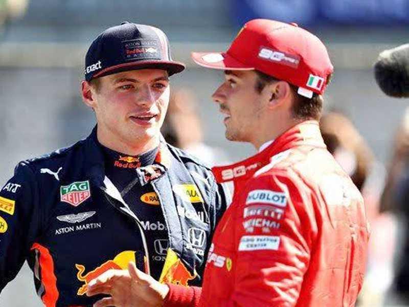 Verstappen e Leclerc assinaram contratos de longo prazo com suas equipes
