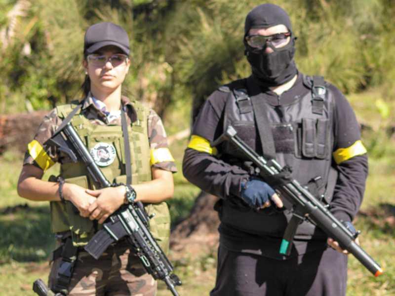 Competidores vieram de várias cidades principalmente do interior paulista onde este tipo de esporte é mais difundido