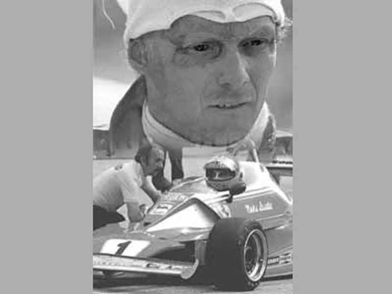 41 dias após escapar da morte, Lauda estava de volta ao cockpit da Ferrari, em Monza