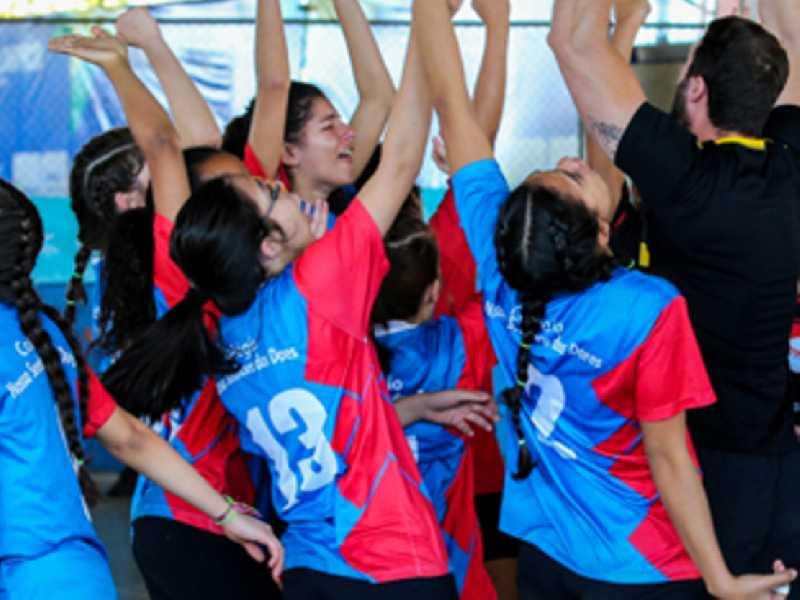 Jogos Escolares reúne estudantes com idades entre 12 e 17 anos de várias cidades da região
