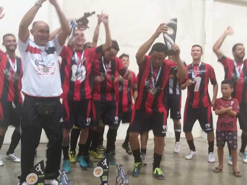Curtume Bela Vista Campeão Futsal