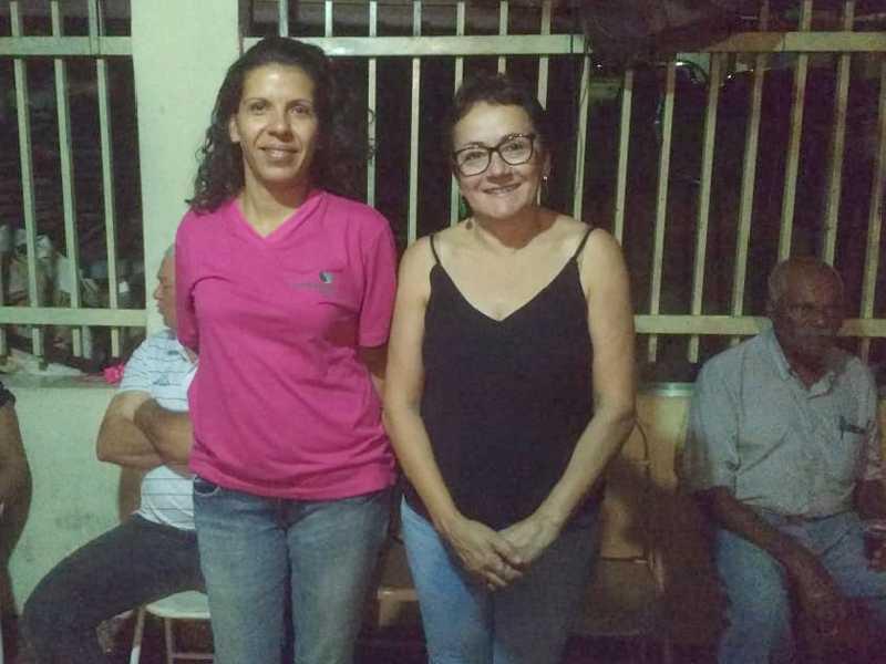 Representando a Concessionária Nascentes das Gerais, participaram da reunião a engenheira ambiental Maria Gabriela Correa Perez e a PHD em Antropologia,  Dra. Inês de Oliveira Noronha