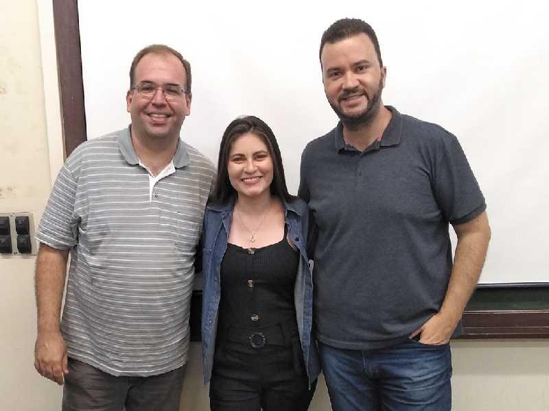 Igor Savenhago, Fernanda Melo, José Augusto Reis
