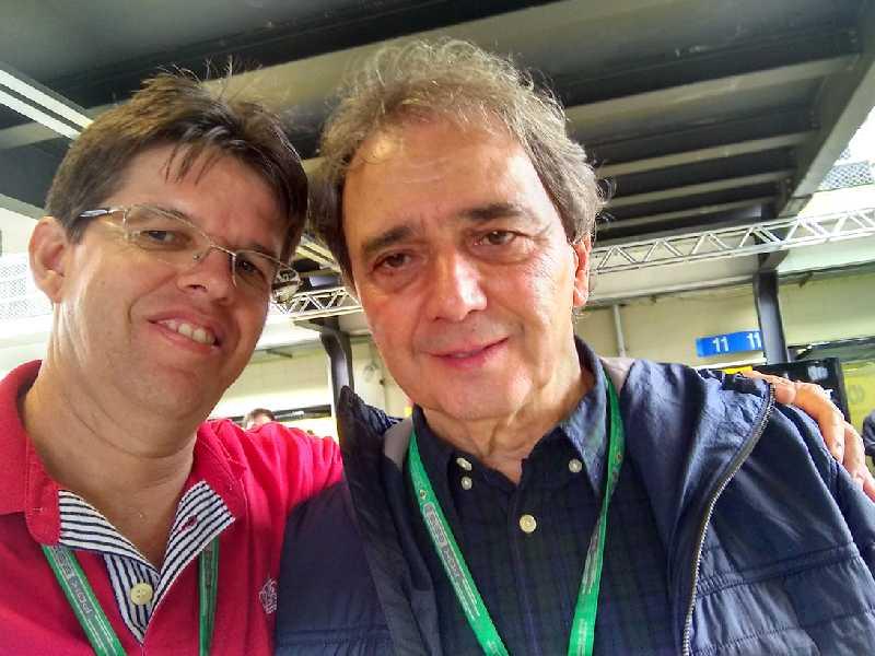 Este colunista ao lado de Reginaldo Leme que deixou a Globo nesta semana depois de 41 anos