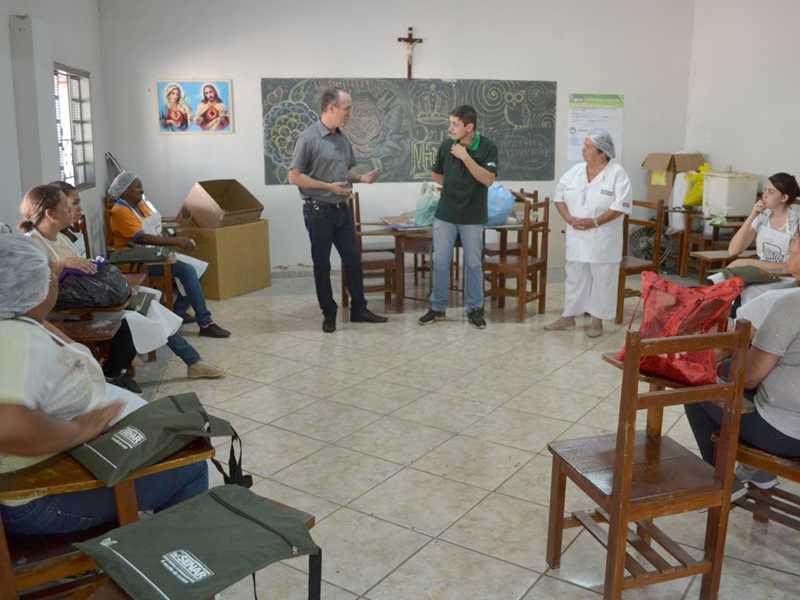 Programa foi realizado na comunidade de Guardinha e reuniu 12 mulheres