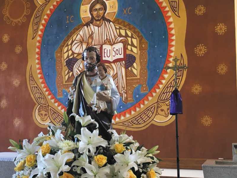 Comunidade festeja São José operário,  patrono do trabalhador