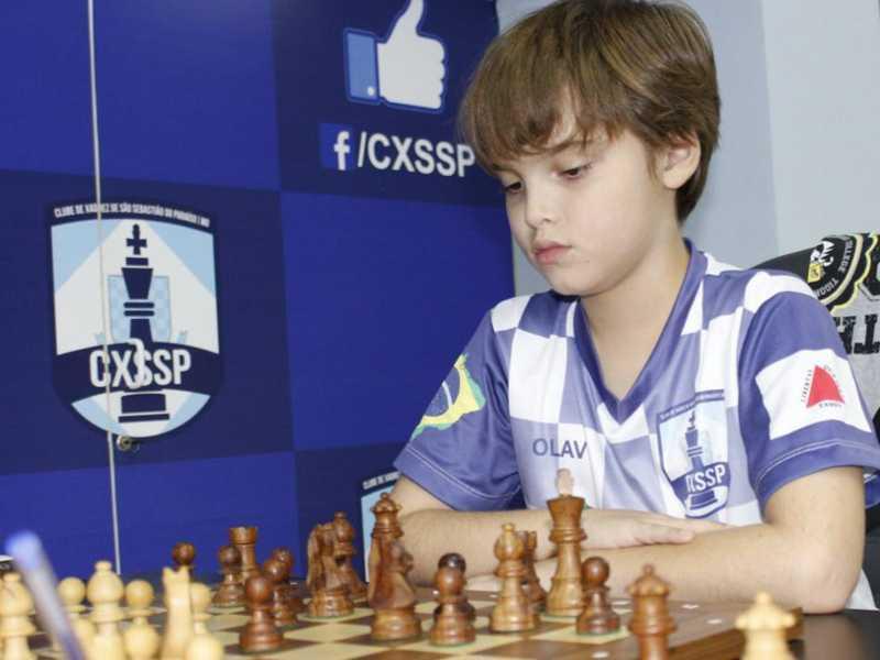 Olavo Carvalho foi o vice campeão do torneio