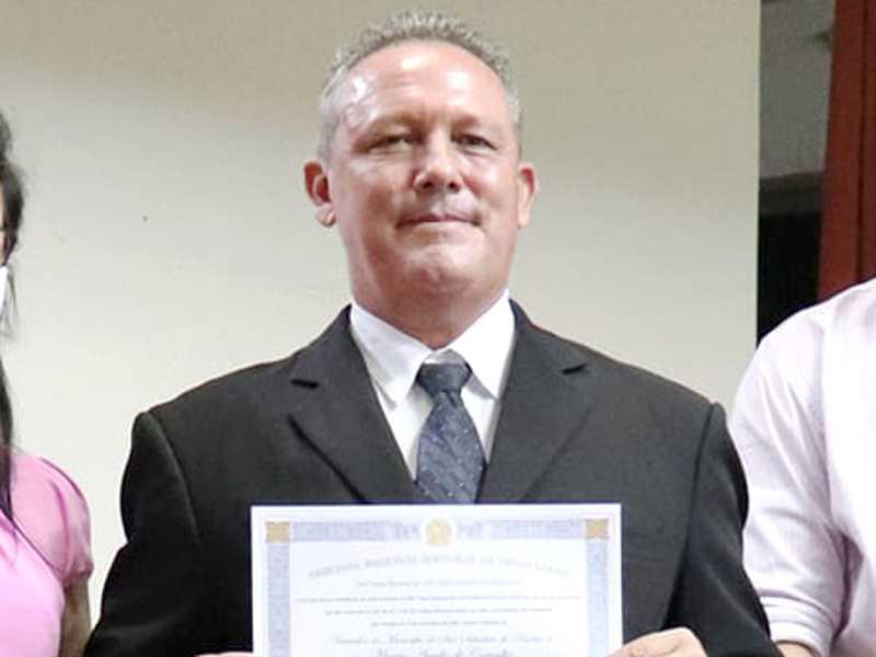 Márcio Aurélio foi diplomado em ato solene realizado pela Justiça Eleitoral em 18 de dezembro