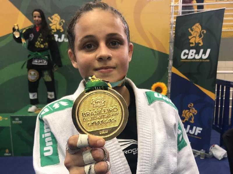 Bia competiu na grande São Paulo no fim de semana e conquistou mais um título de campeã